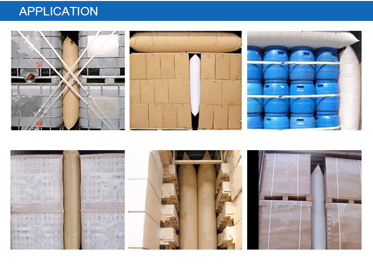 800*1800 mm PP Polypropylene container dunnage air bag air bladder