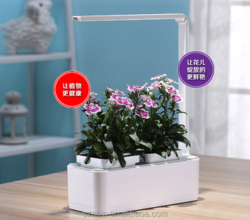 Smart Herb Garden Grower Kit, 2 Detachable 18 Pots Seeds DIY Educational Self  Watering DWC