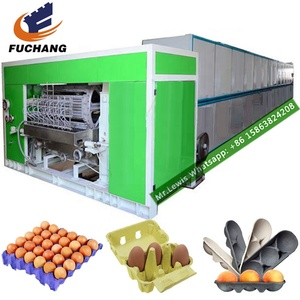 Hot Selling Rotary egg tray waste paper recycling pulp /paper pulp making machine