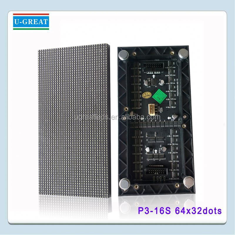 Top grade customized Modularized power and signal unit p3 led module in led displays