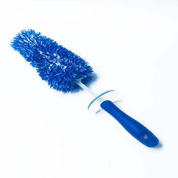 Soft Bristle Multipurpose Cleaning Car Rim Detailing Brush with long handle