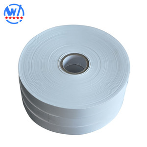 Blank clothing labels printing nylon taffeta ribbon