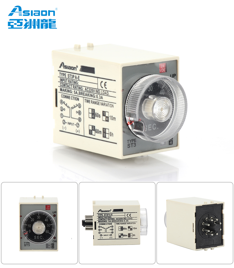 Asiaon St3p Electronic Time Relay