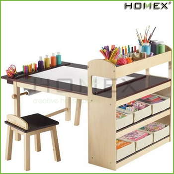 toddler writing desk A computer table or a writing desk with a chair for children activities should be  made of environmentally friendly materials, functional, durable.