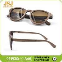 Where To Buy Unique Cat 3 UV400 Wooden Sunglasses with Gradient Lenses