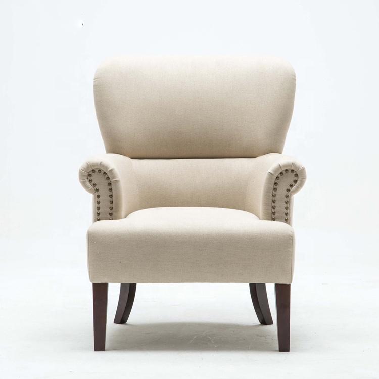 Living Room Design Furniture Modern Fabric Hotel Tub Cheap Armchair Leisure Designer Single Sofa Chair