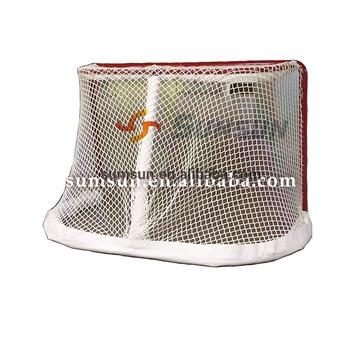 Durable Hockey Goal Hockey Net Nylon Netting Resin Coated Water Proof And  Long Lasting For Nhl Hockey Games - Buy Hockey Goal,Street Hockey,Mimi