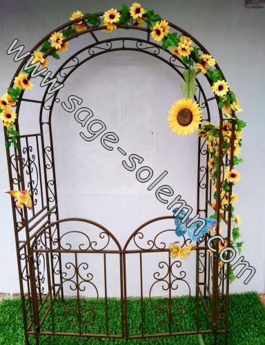 Muebles Decorativos Artsticos Metal Rose Jardn Arco Para Las