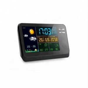 Tabletop meteo station/portable electronic 3 day precision wireless weather station with forecast and barometer for home