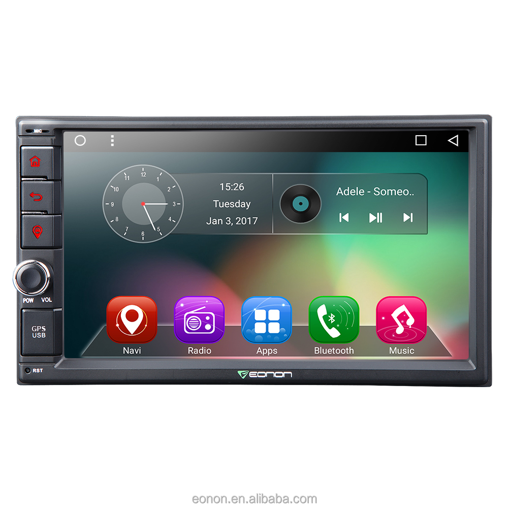 Eonon Ga2162 2-din Android 6 0 7 Inch Multimedia Car Car Gps With Mutual  Control Easyconnected (without Dvd Function) - Buy Ga2162 Android Car