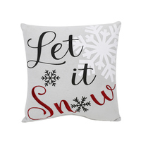 China Supplies Christmas Cushion Cover Home Decor Pillow Case