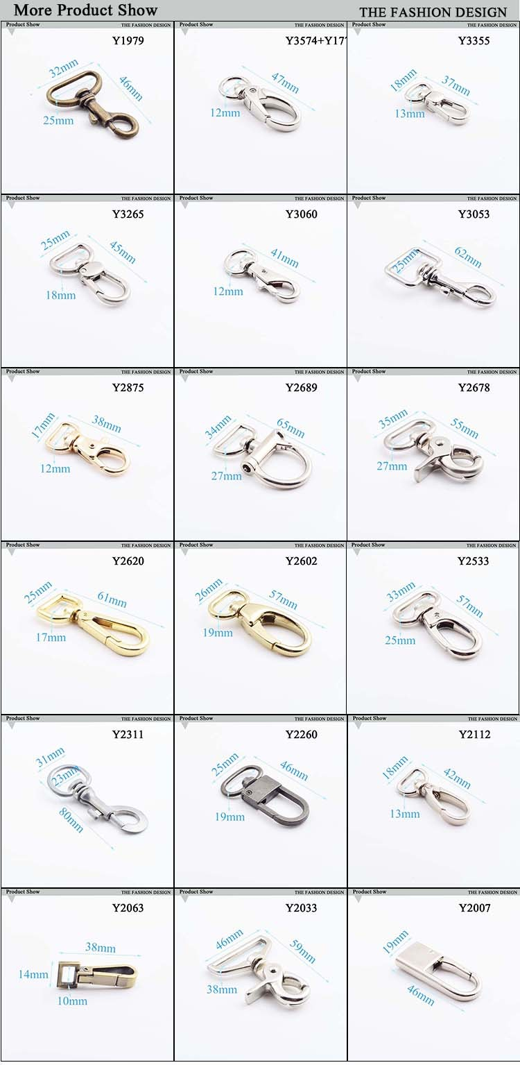 high end metal dog hook snap hook manufacturer