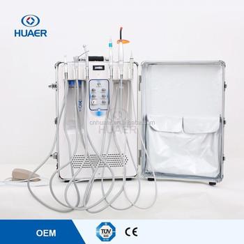 Gigi Laser Mesin Pembersih Gigi Handpiece Dental Unit Dengan Rendah
