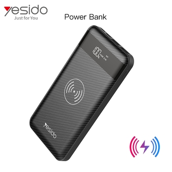 Wireless Charger Power Bank Double Band With Simple Cablepowerbank