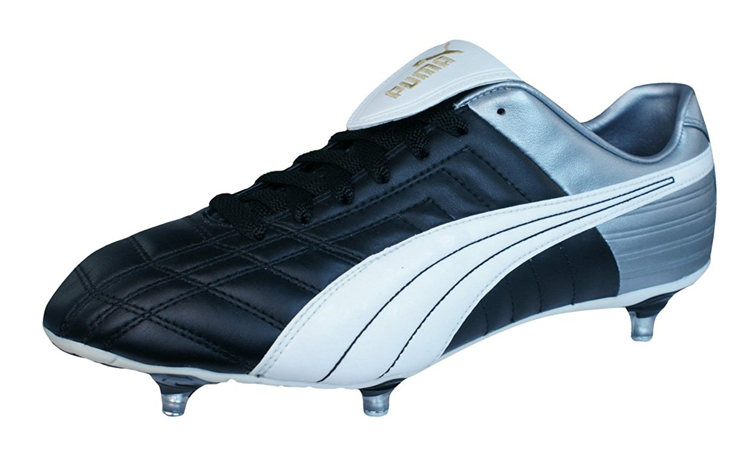 fd78627b4 Buy Puma King XL SG Mens Leather soccer Boots / Cleats - Gold in ...