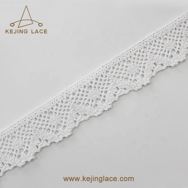Embroidery trim lace ladies ribbon trimmings for dresses
