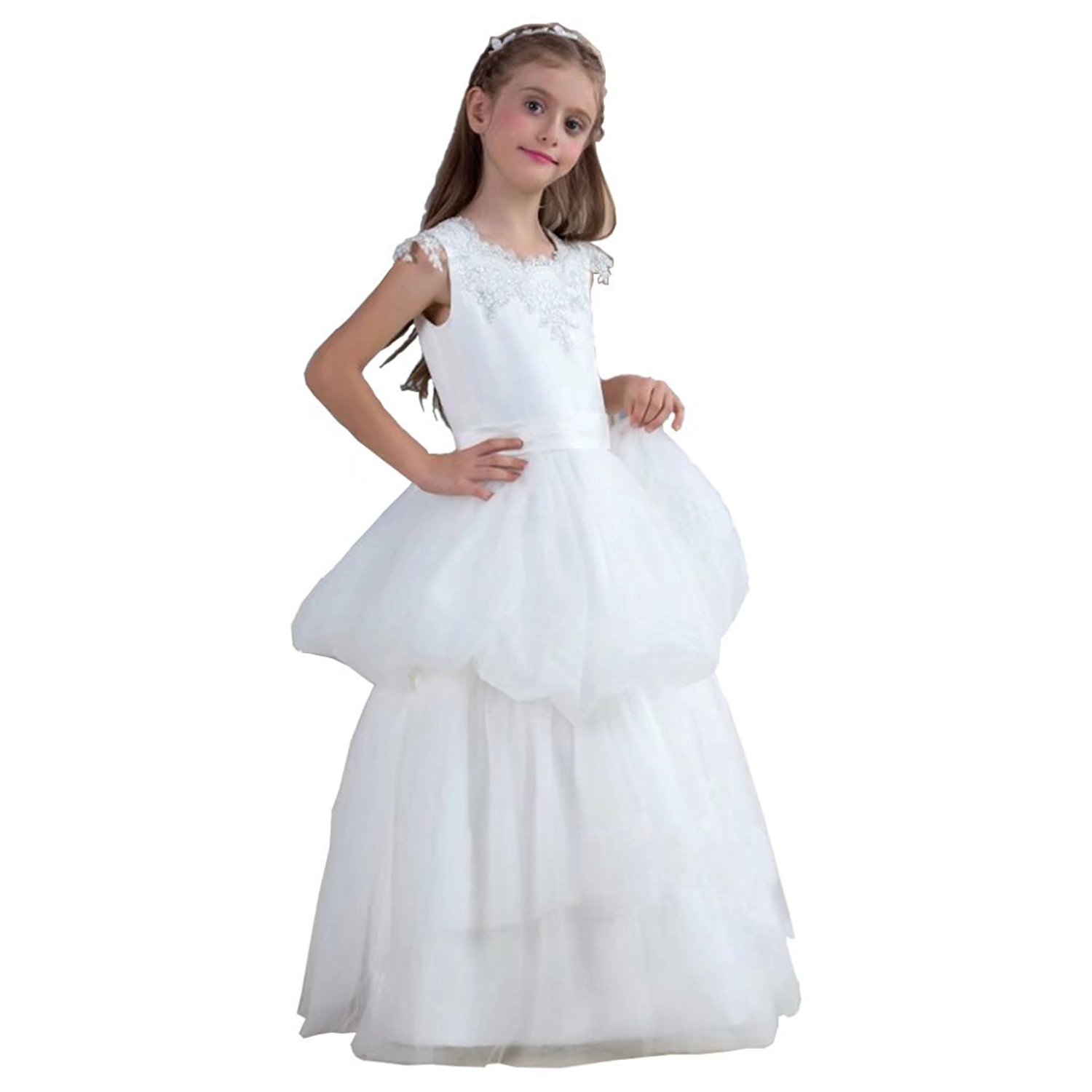 ec4838e261d4e Cheap Puffy White Dress, find Puffy White Dress deals on line at ...