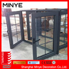 Strong willed the latest glass aluminum windows casement window design