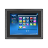 Anti-Knock 10mm frame Embedded android industrial PC 10.4 inch all-in-one panel PC bank computer operating system