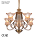 Zhongshan Decorative Lighting Led Chandelier 2018 Modern Art Unique Pendent Light
