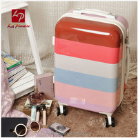 Wholesale travelling bags luggage rolling carry on trolley case