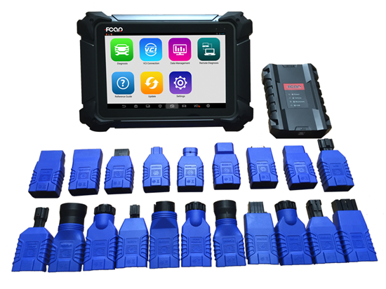 car diagnostic too F7S-D auto diagnostic system for 24v vehilcles ,support WIFI bluetooth