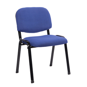Armless stackable office visitor chair training staff modern conference room guest chairs