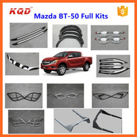 High fitment pick up car chrome kit easy installation mazda bt-50 kits