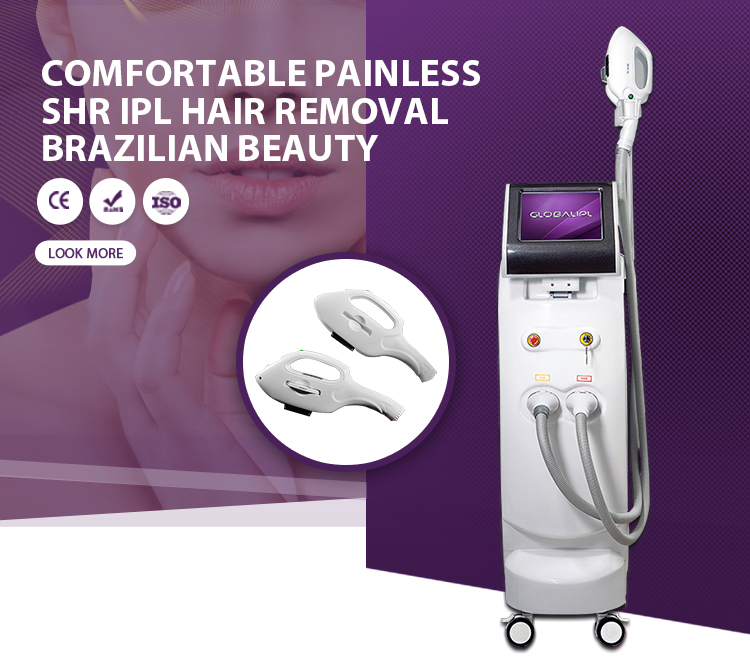 2019 Most Popular Beauty Equipment New Style SHR OPT AFT IPL+Elight+ RF +Laser Shr Hair Removal