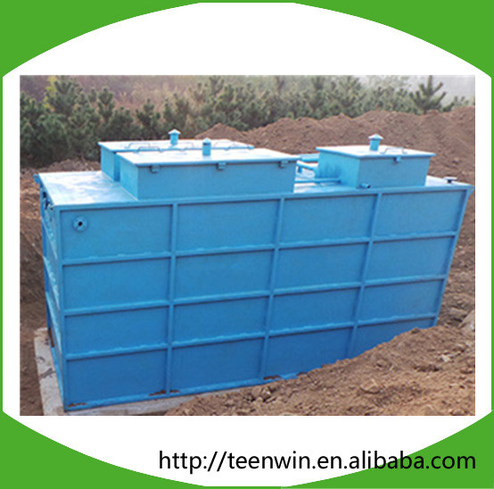 Hollow Fiber Membrane Filter System Compact Sewage Treatment Plant