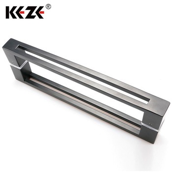 European Style Shower Glass Double Sided Door Pull Handle