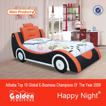 Happy Night Single Size Kids Cars Bunk Beds Kid Bed 1 Buy Kids