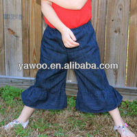 New Arrival! Good Selling Wholesale cargo adult girls boys casual child kids jeans pants hot pants