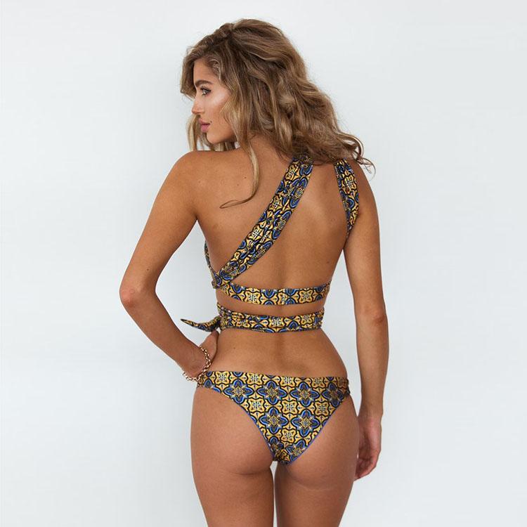 Lastest Design Bikini Stampati Personalizzati Costumi Da Bagno Con ...