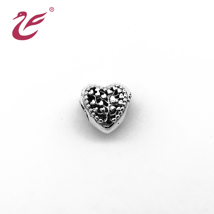 Custom jewelry wholesale pendant heart charms and pendants jewelry