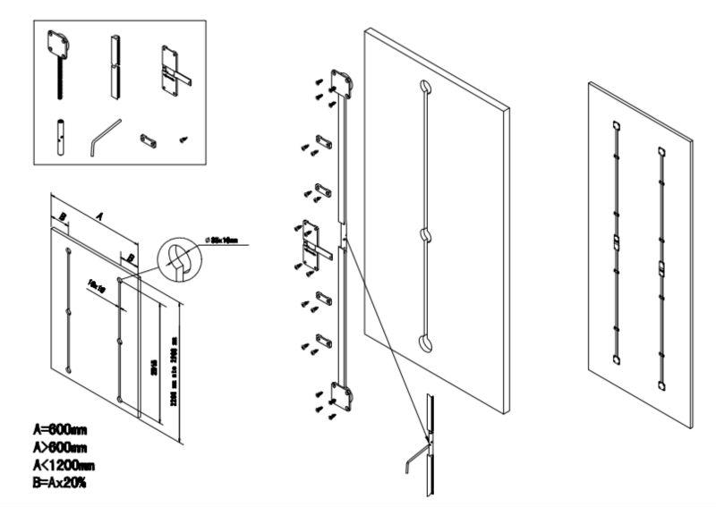 Straightening Device For One Door /redresseur De Porte/cabinet ...