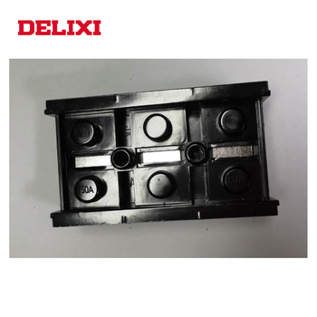 Delixi TB Series 600V 25A 5P 690V Fixed Low Voltage Terminal Block