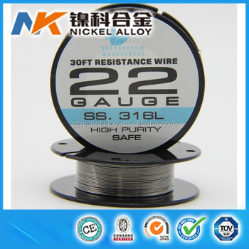 Ecig Vape Wire Ss 316l 38 36 34 32 30 28 26 22 Gauge Stainless Steel ...