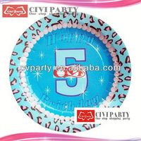 ODM Birthday Party Paper Plates chinet paper plates manufacturer fancy paper dish