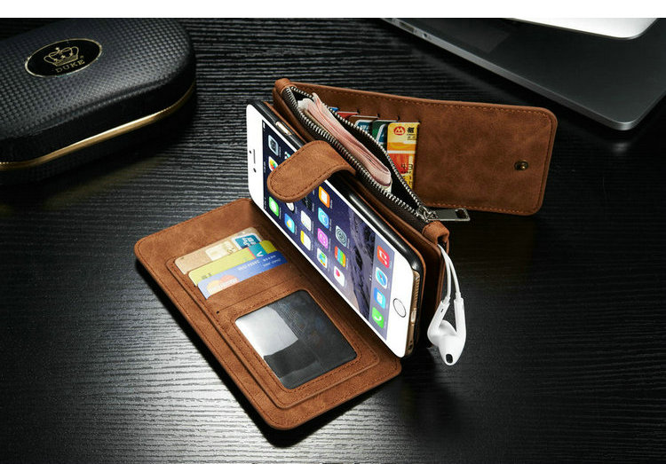Caseme New Design Card Slots Case For Iphone 6s,Leather For Iphone ...