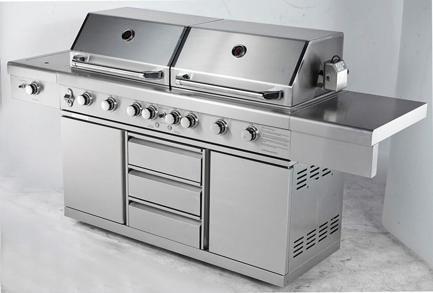 edelstahl outdoor küche schränke bbq mit aga zertifizierung für ... - Edelstahl Outdoor Küche