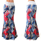 African long skirt High waisted long skirt Middle-east long skirt 94170