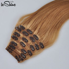 Hair Extensions Clip In Human Can Make YourHairLabels And Packaging Cuticle Aligned Raw Virgin