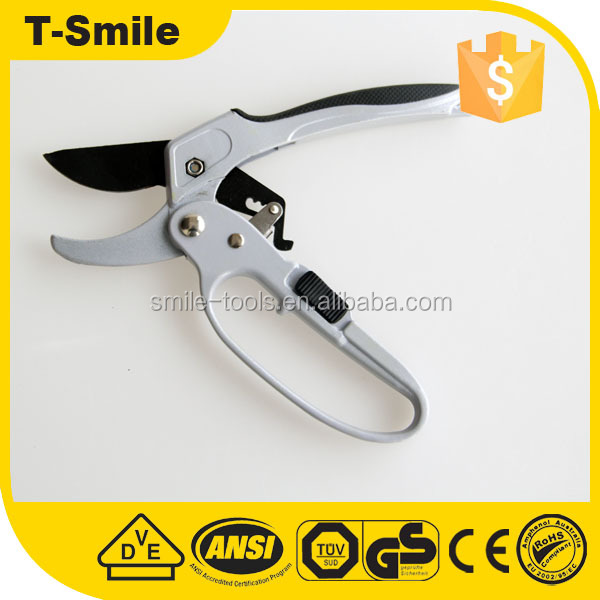 Durable fruit picking tools Garden ratchet pruning shears