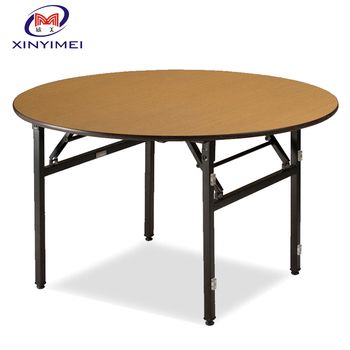 Genial Foshan Factory Folding Round Banquet Table Wholesale