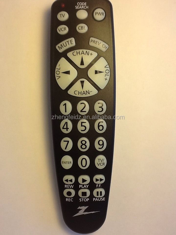 Universal Remote Control Zenith Cl032 3 Function Universal Remote