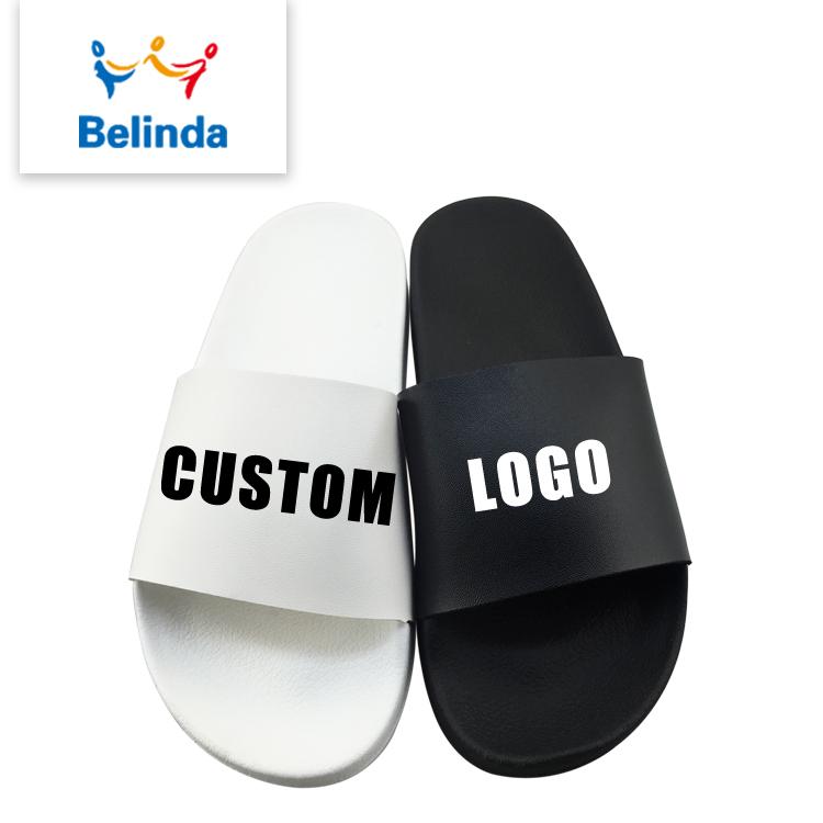 2c6f773187ae Designer Slippers Shoes Made Printed Brand Lady Woman 2018 Custom Logo Slide  Sandal
