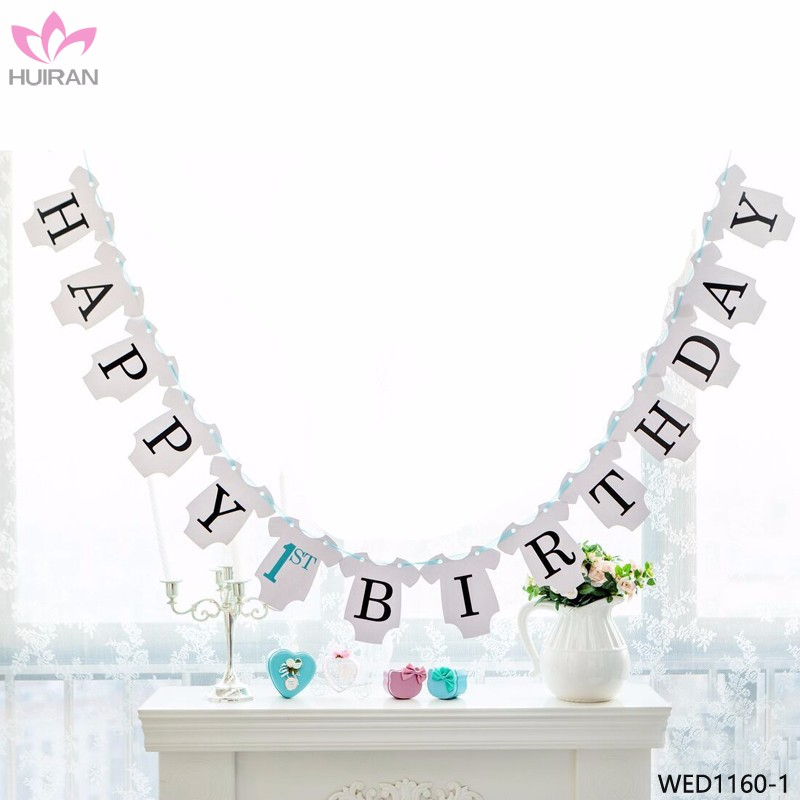 Happy 1st Birthday Boy.Boy Girl Baby Happy 1st Birthday Bunting Banner Buy 1st Birthday Banner 1st Birthday Bunting Banner Product On Alibaba Com