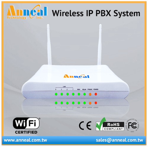 Affordable Wireless Mini IP PABX Phone System VoIP WiFi SIP PBX