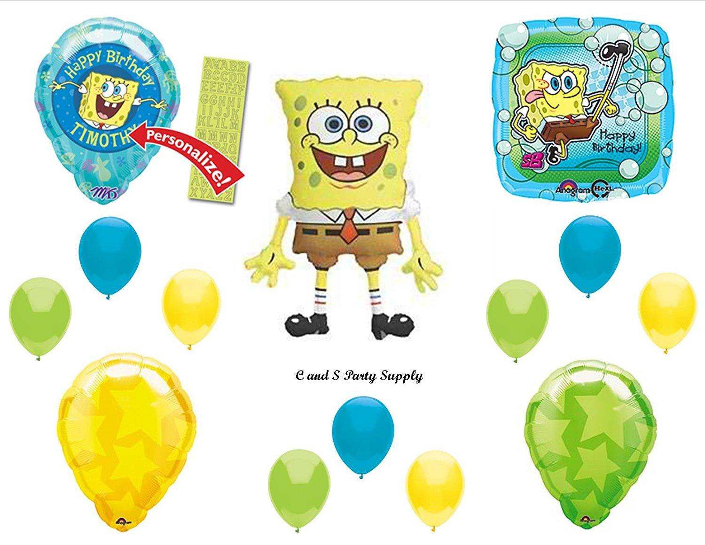 Cheap Spongebob Birthday Decorations, find Spongebob Birthday ...